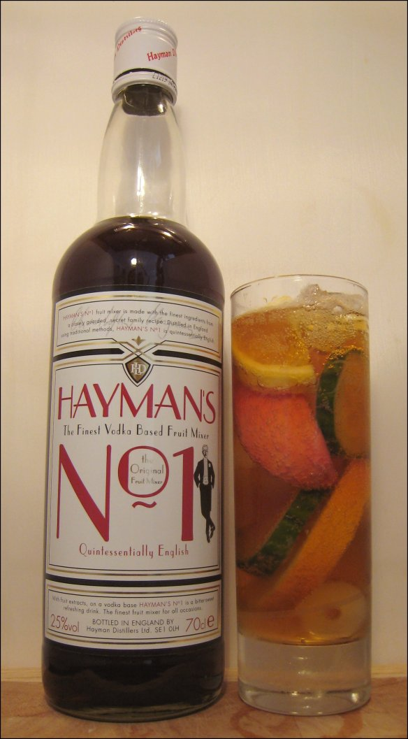 The now discontinued Hayman's No1 (Vodka) Fruit Mixer (Cup)