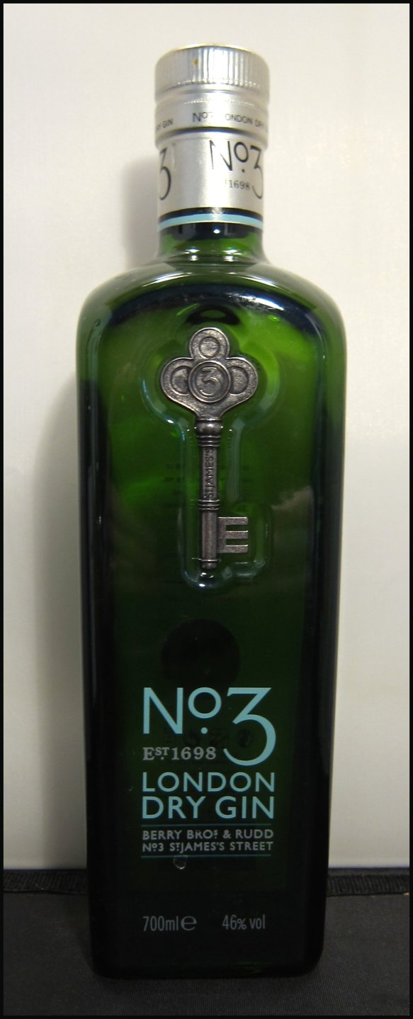 No3 Gin Bottle
