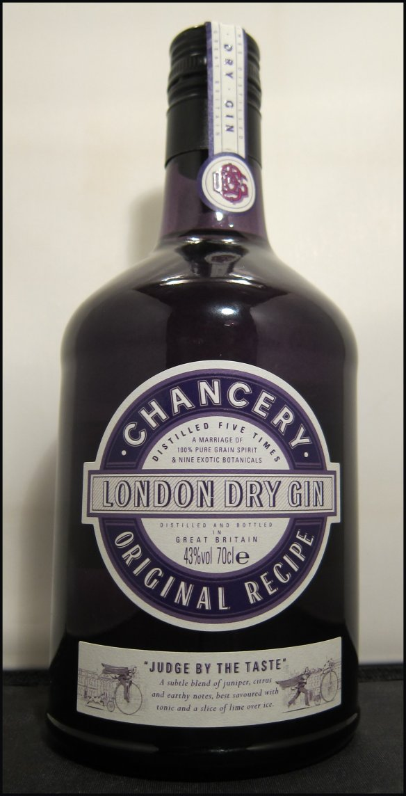 Chnacery Gin Bottle